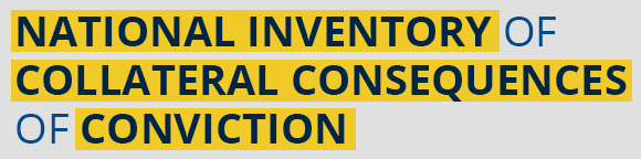 National Inventory of Collateral Consequences of Conviction